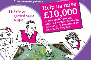 """The Northamptonshire Health Charity has launched a campaign to raise 10,000 to buy a 'Magic Carpet"""" to help dementia patients."""