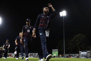 The Steelbacks suffered a big defeat at Derbyshire