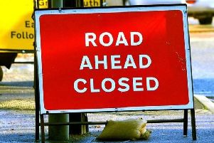The road will be closed.