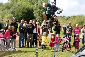 Cycle Fest festival of cycling at Stanwick Lakes'' 2017