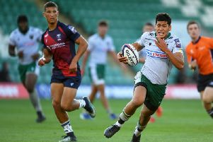 Connor Tupai was in action for Saints