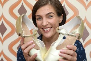 Shonagh is swapping her trainers for dance shoes