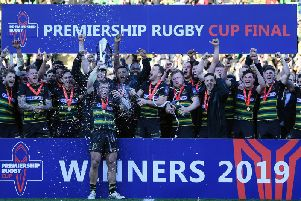 Saints are the current Premiership Rugby Cup holders