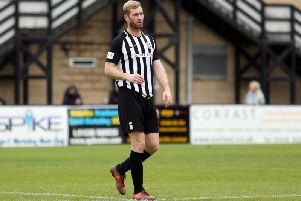 Corby Town joint-manager Gary Mulligan