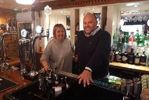 Sonya and Richard took over The Red Lion in April 2018.