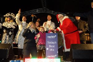 Action from last year's big switch-on.