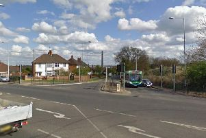 The incident took place in Duston Road on October 16, police today confirmed.