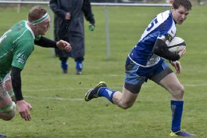Del Veenendaal scored a try for East Midlands.