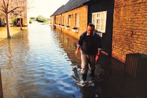 The Peterborough floods of 1998