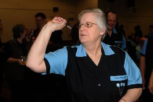 Sandra Greatbatch was a 3-0 winner.