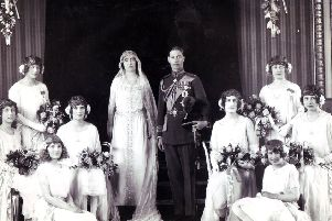 Royal Wedding - Duke of York and Elizabeth Bowes-Lyon (later King George VI and Queen Elizabeth) 26th April 1923