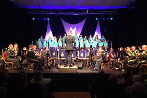 The RAF concert at The Cresset