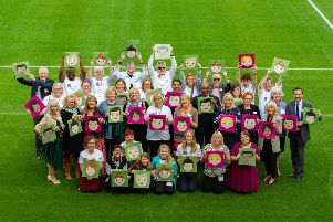 The launch of the Team Cambridgeshire fostering campaign at the Abbey Stadium in Cambridge. Photo: Terry Harris