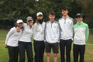 Pictured is the Greetham Valley team that won the Lincolnshire junior title.