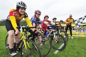 More junior cycle racing at the Embankment on Friday.