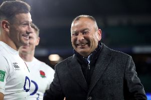 England rugby union coach Eddie Jones doesn't really have a lot to smile about.