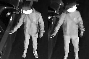 CCTV images of the man police wish to speak to