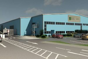 An artist's impression of the new recycling centre