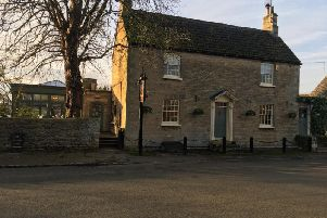 The Falcon Inn at Fotheringhay is on the market but it is business as usual