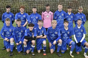 ICA Under 18s. Pictured from the left are, back, Finlay Richmond, Charlie Jenkins, James Ware, Matthew Wilshire, Sam Bloodworth, Ben Denton, Taylor Breagan, front, Tom Baxter, Ciaran Millen, Isaac Myrie, Liam Nightingale, Jack Banham, Tyler Munns and Brooklyn Gray.