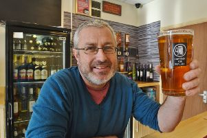 Dave Williams, licencee of the Wonky Donkey in Fletton High Street. EMN-190202-223000009