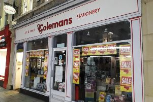 The Colemans shop in Cowgate, Peterborough.