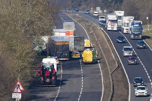 Lorry driver still recovering following serious crash on A1 near Peterborough
