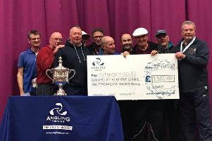 The Stanjay Gold team that finished runners-up in the big Angling Trust Winter League Final.