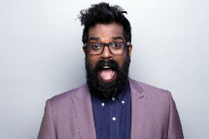 Romesh Ranganathan at the Congress Theatre in October 2016 SUS-170103-143547003