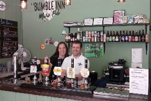 Tom and Michelle Beran at The Bumble Inn. EMN-170620-134247001