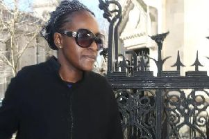 Fiona Onasanya MP at court yesterday