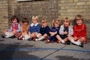 Queen's Drive Infant School around 1985