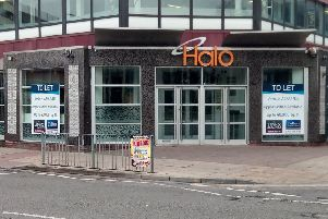 The former Halo bar in Peterborough