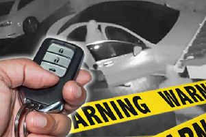 There has been a rise in keyless car thefts
