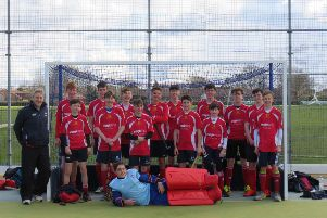 City of Peterborough Under 16s before an impressive win over Bedford.