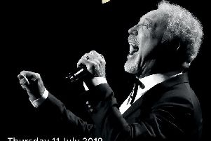 Tom Jones is performing at The Abax Stadium on July 11