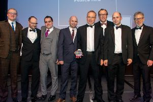Pearce Hire wins Best Power Supplier at Event Production Awards 2019.