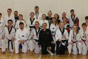 Members of the Stamford, Bourne & Deeping Tae Kwon Do Club who did well at the Midlands and English Championships.