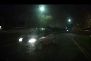 Dash cam footage of the incident from Richard Whiteside