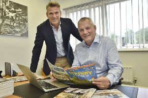Robert Nesbet, chief executive, and Chris Pennock, managing director, of publishers Media One.   EMN-180821-215256009