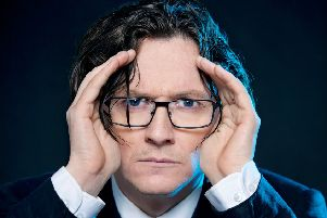 Ed Byrne is coming to Peterborough New Theatre