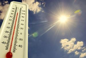 The weather of late has been cool and dreary, but Peterborough is soon set to see bright skies and warmer temperatures.