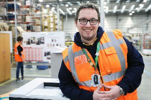 Orestas Stankus  is one of hundreds of Amazon associates who have taken part in Learning at Work Week/Career Choice Programme.