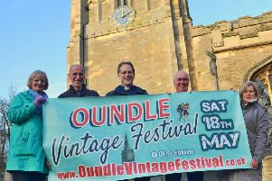 Oundle Vintage Festival is on May 18