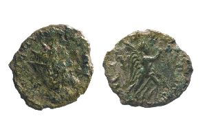 This is only the second coin of Emperor Laelianus to be discovered in England