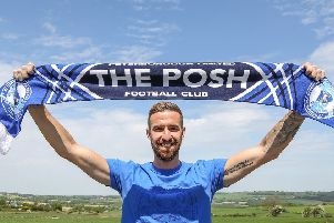 New Posh signing Mark Beevers. Photo: Joe Dent/theposh.com.