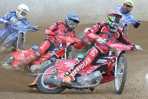 Hans Andersen got Panthers off to a great start against King's Lynn with victory in the opening heat.