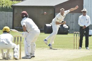 Rob Sayer was in top all-round form for Cambs at the weekend.