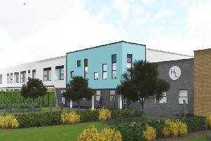 An artists impression of the new school