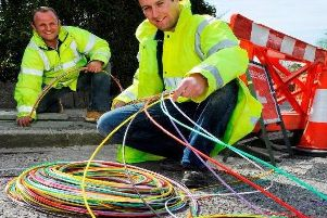 Work to deliver the new CityFibre fibre-to-the-premises broadband network.
